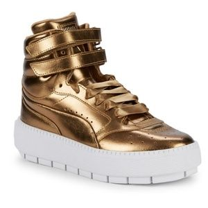 Puma Platform Trace STMT Luxe Hightop Sneakers